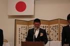 JCIミッション並びにJCIビジョン唱和 山本副理事長