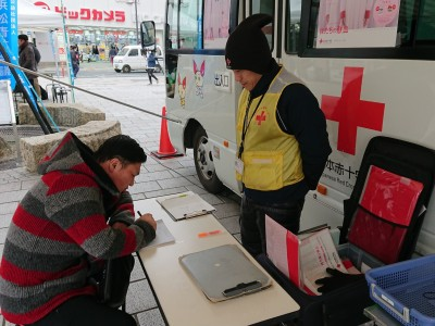第1回献血活動